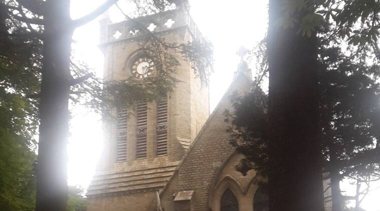 Christ Church kasauli, Christ Church clock, christ Church clock Kasauli, Church clock Kasauli,  christ Church clock Army, Kasauli news, himachal pradesh news, india news