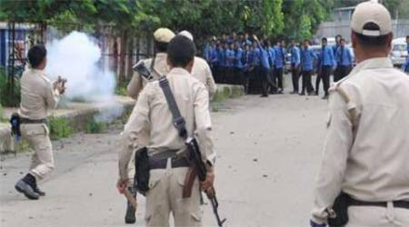 Manipur agitation: 1 killed as students clash withpolice
