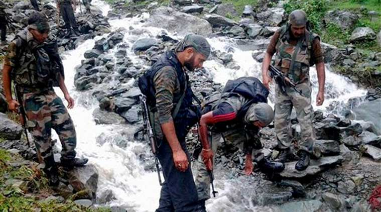 Kashmir cloudburst, cloudburst, Amarnath Yatra, Amarnath Yatra cloudburst, cloudburst news, kashmir, Sonamarg , latest news, india news, indian express news