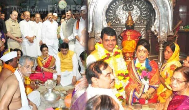 Devendra Fadnavis, Pandharpur, Vithal, Ashadi Ekadashi, Pandharpur temple, Lord Vithal, Goddess Rukmini, Lord Vithal and Goddess Rukmini, Maharashtra
