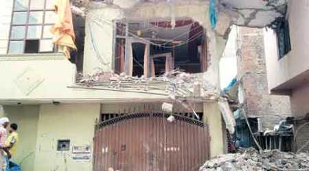 Vishnu Garden house collapse: Toll rises to five, blame game begins