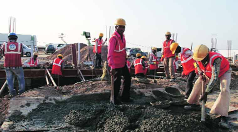 maharashtra govt, construction project, mahrashtra construction project, labour welfare, mumbai news, Building and Other Construction Workers Act, maharahstra news, Indian Express
