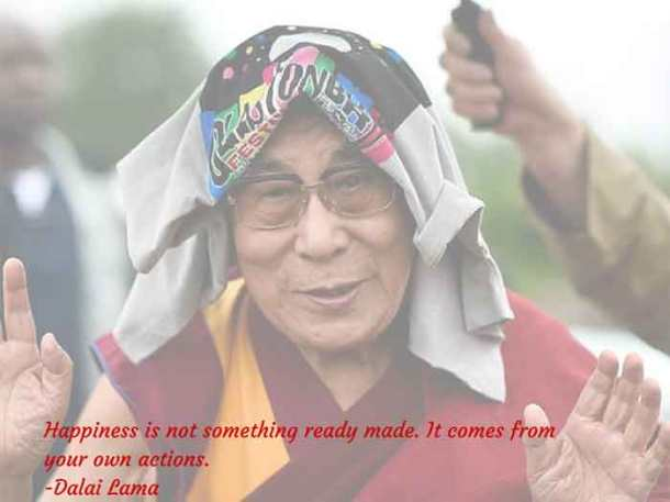 Start your day with these six inspiring quotes by Dalai Lama