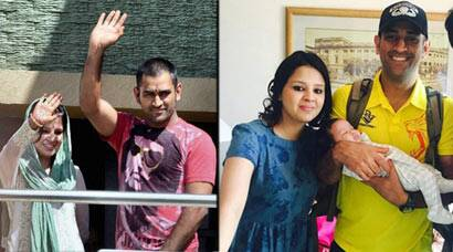 MS Dhoni, Sakshi complete five years of togetherness
