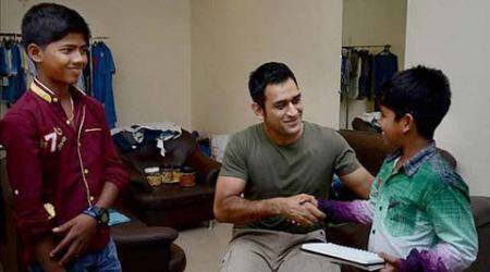 Dhoni celebrates 34th birthday at the end of an eventful year