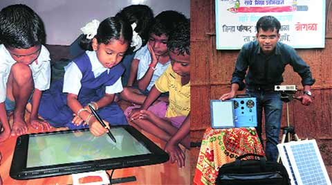 Digital India, PM Narendra Modi, Narendra Modi, PM Modi digital India, Digital India Mission, govt school, mumbai news, city news, local news, maharashtra news, Indian Express