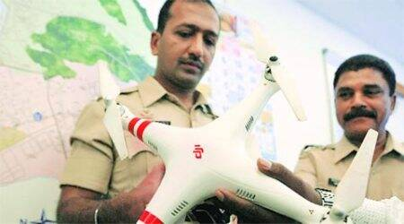 2 caught flying drones near TISS without permission, detained