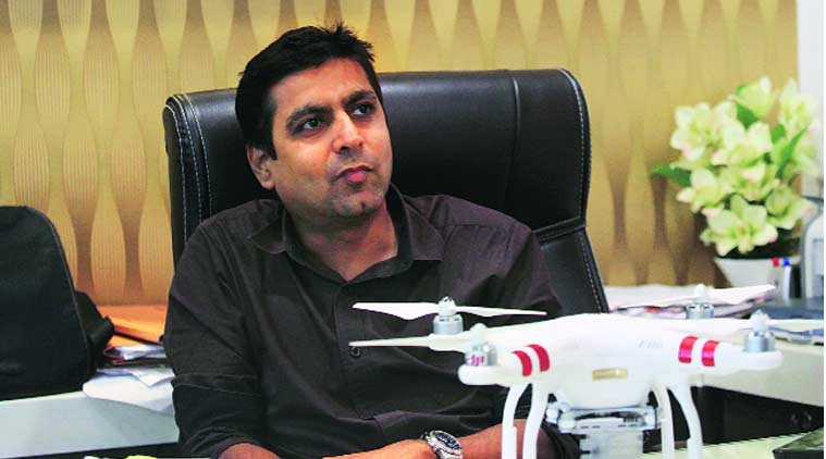 india drone, pakistan drone, pakistan drone india, india spy drone, india drone pakistan, pakistan drone, indian drone shot, india pakistan drone, india news, pakistan news, mumbai news, indian express