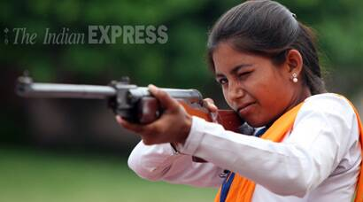 VHP's Durga Vahini girls take part in a self-defence camp in Jammu