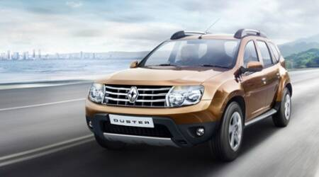 new renault duster launched starting at rs lakh the indian express. Black Bedroom Furniture Sets. Home Design Ideas