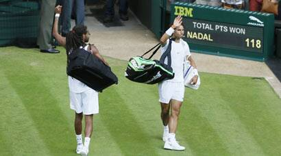 Wimbledon: Dustin Brown knocks out two-time champion Rafael Nadal