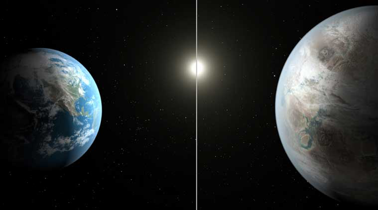 Kepler-452b, an Earth-like planet found by NASA; holds promise of life