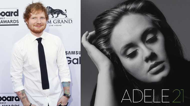 Ed Sheeran, singer Ed Sheeran, adele, Ed Sheeran alede, adele new album, LP, adele LP, entertainment news