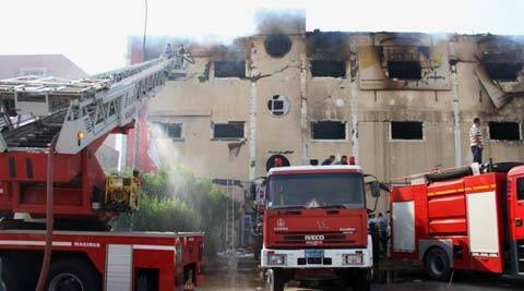 At least 25 killed, 35 injured in separate fire accidents in Egypt