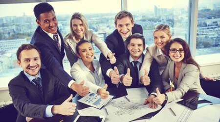 People who like their bosses and their work environment get as much pleasure from weekdays as they do from weekends. (Source: Thinkstock Images).