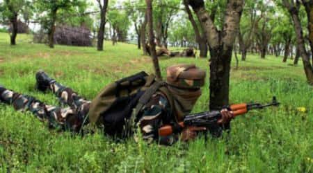 Gun-battle near LoC after Army intercepts a group ofmilitants