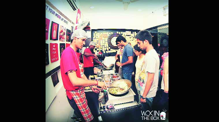 talk, mumbai talk, Chinese takeaway,  Quick Service Restaurant, Wok Express, food, food service, Aayush Agrawal, Indian Express