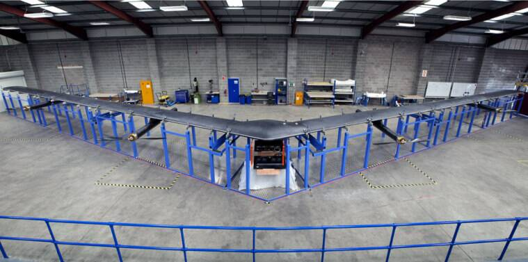 Facebook ready to test giant drone to provide Internet service