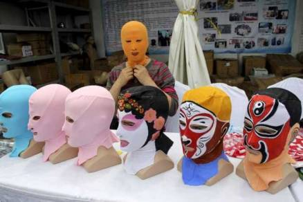 Face-kini, China's famous beauty mask, gets a makeover