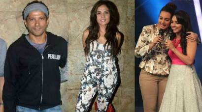 Farhan Akhtar watches Richa Chadda's 'Masaan', Sonakshi turns crooner