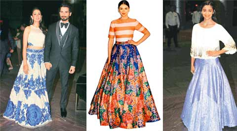 Bridal Lehenga Gets An Interesting Makeover With Skirt