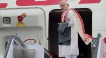 Jet set go! PM Narendra Modi embarks on six-nation tour
