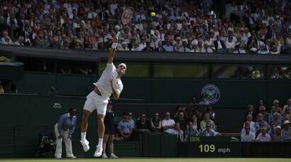 Wimbledon 2015, Wimbledon, Wimbledon score, wimbledon results, roger federer, andy murray, federer vs murray, federer, murray, novak djokovic, wimbledon, wimbledon photos, tennis photos, tennis