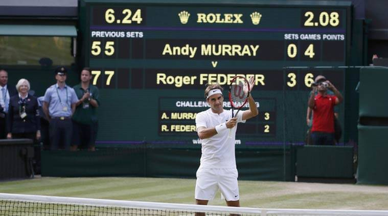 Wimbledon 2015: Roger Federer prevails over Andy Murray