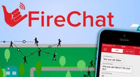 Firechat, the no-network messaging service