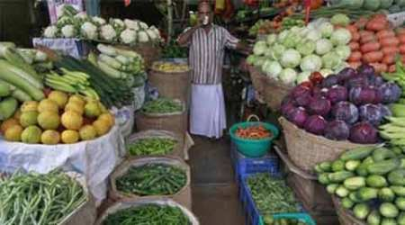 The link between food inflation and malnutrition, plotted forAndhra