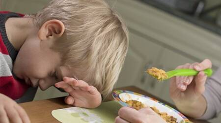 """If children are pushed to eat everything on their plates, they may stop relying on their own body's signals, and eat until the parents are happy,"" the study said."