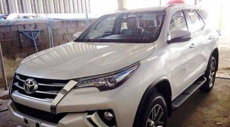 New Toyota Fortuner set for spied testing