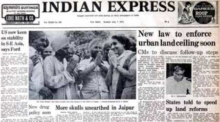 emergency, 40 years of emergency, 1975 emergency, 1975-1976 emergency in India, Indira Gandhi, Sanjay Gandhi, indian express, india news