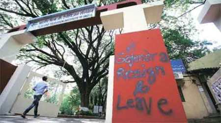 May shut down FTII for some time, says director Prashant Pathrabe