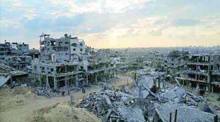 A year after Gaza war: In crumbling homes, living brokenlives