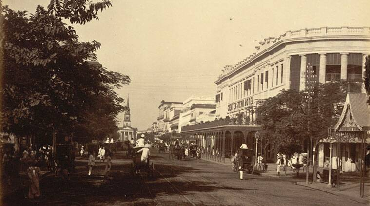 The old Great Eastern Hotel in Calcutta at the turn of the 20th century
