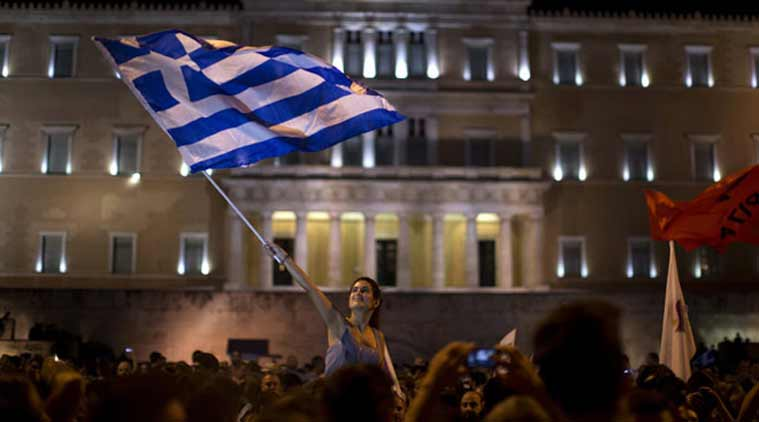 greece, greece referendum, greece crisis, greece referendum results, Eurozone, Eurozone greece, greece eurozone, greece vote, greece bailout, euro. euro economy, greece updates, greece economy, angela merkel, francois hollande, greece news, germany news, france news, world news, indian express