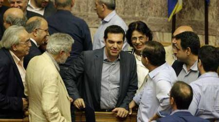 Greece bailout: Parliament back PM Alexis Tsipras' bailout reform plan
