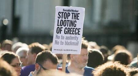 Greece, Greece crisis, Greek euro crisis, Greece bailout, Greek Bailout, Greece bailout talks, Greek referendum, Greece eurozone exit, Greece euro crisis, Greece debt negotiations, Alexis Tsipras, Greece debt crisis, greece bailout crisis, indian express column, ie column