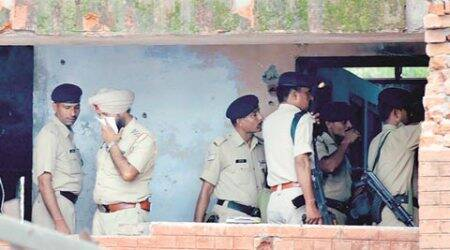 Massive police search in Mukeriana, Tanda, Gurdaspur after three suspicious personsspotted