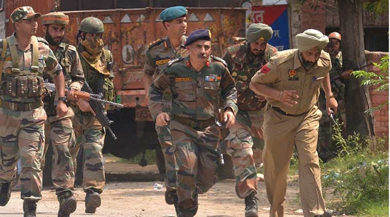 gurdaspur attack, gurdaspur terror attack, Punjab Police, Indian army, Search operations Punjab village,  Pathankot-Dalhousie search operations, military uniform impersonation, Punjab terror attack, Punjab news, Himachal news, india news, latest news