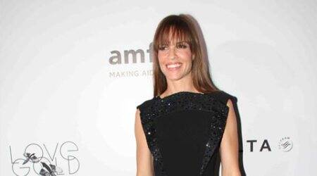 Hilary Swank enjoys intimate date in New York