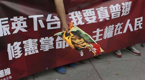 Hong Kong, Hong Kong 1 July marches, Annual protest march, Hong Kong Pro-democracy rally, Hong Kong Democracy protest, Hong Kong Anti-China protest, Hong Kong democracy, Hong Kong news, China news, Asia news, World news, International news,