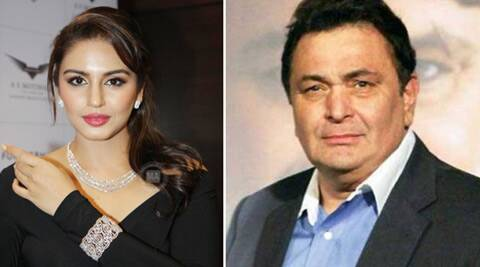 Rishi Kapoor's 'joke' on Huma Qureshi earns him flak