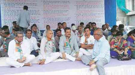 Amreli flood: Congress MLA begins hunger strike for relief package