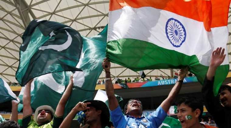 Image result for Indian flag during cricket match
