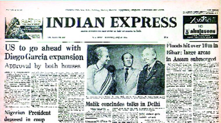Indian Ocean,  Emergency, Coup In Nigeria, indian express