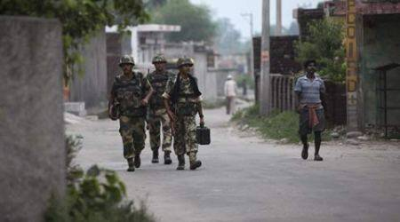 Samba Curfew, indian Army, Sheetal Nanda, Vijaypur, act of sacrilege, india news, news