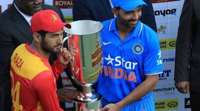 India vs Zimbabwe: Series ends in 1-1 draw