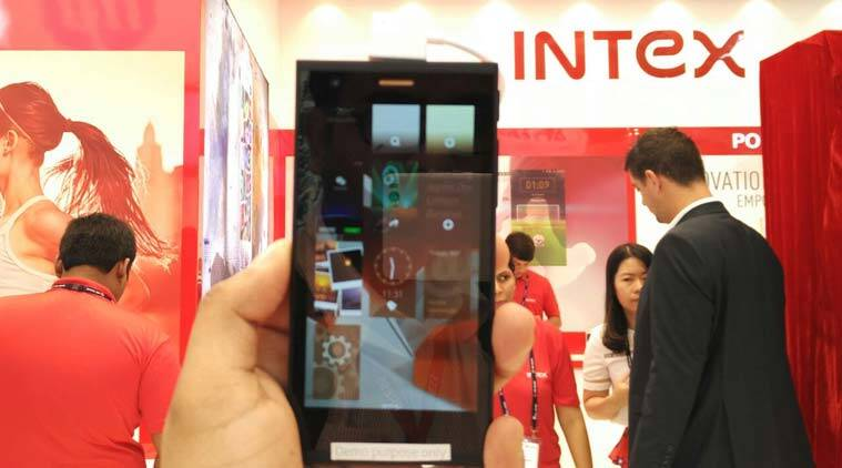 Intex, Intex Technologies, Intex Jolla, Intex Aqua Fish phone, Intex Sailfish OS 2.0, Intex Sailfish OS phone, Intex Aqua Fish price, Intex Aqua Fish specs, Intex Aqua Fish features, MWC Shanghai, Mobile World Congress Shanghai 2015, MWC 2015, MWC Shanghai 2015, Intex technologies launch, Intex MWC 2015, mobiles, smartphones, technology news